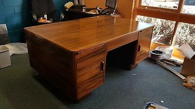 Art Deco Partners Desk