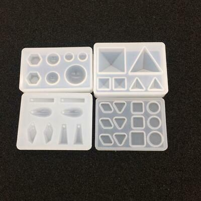 Silicone Pendant Mold Making DIY Jewelry For Resin Necklace Mould Craft  Tools