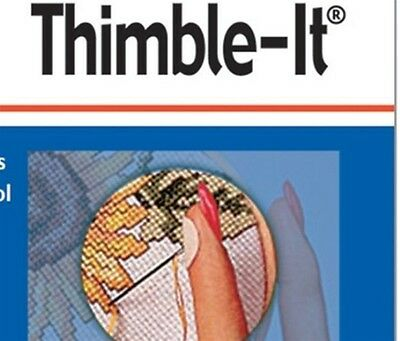 Colonial Sew Simple Thimble It Pack Of 64 Finger Pads Sewing Crafting Brand New