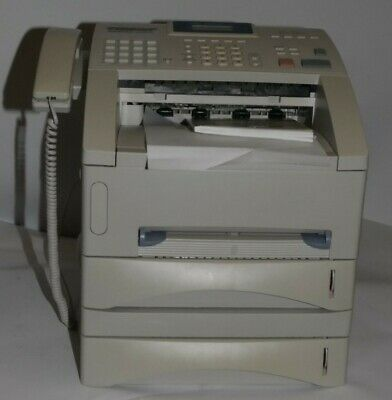 Brother Intellifax 5750E Fax Machine Less Than 3600 Pages Printed & Extra Tray