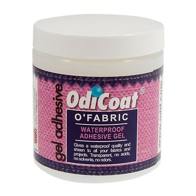 ODICOAT WATER RESISTANT FABRIC COATING GEL 250ml - ODIF -CREATE OIL CLOTH EFFECT