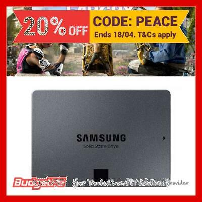 Samsung 860 QVO 1TB SATA III 2.5 inch Quality and Value Optimised SSD With Far C