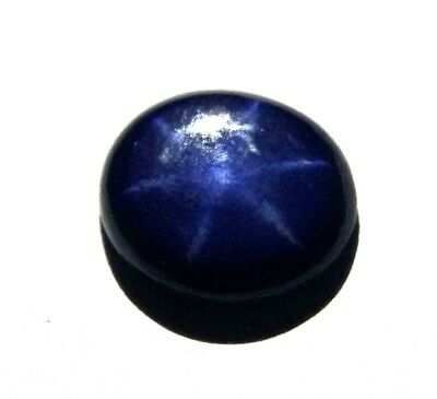 GGL Certified 2.20 Ct Natural Six Rays Star Blue Sapphire Loose Gem Best Offer