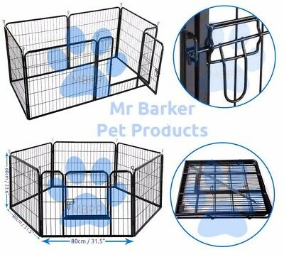 Heavy duty animal play pen dog whelping box cage crate rabbit run guinea pig run