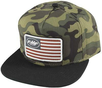 FMF Racing Stars and Bars Hat Black F35196109-BLK