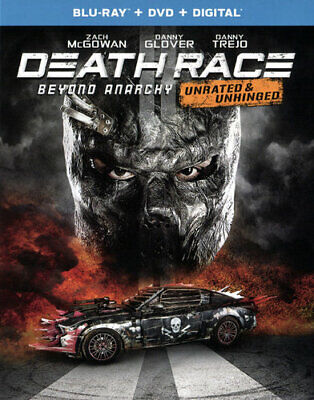 Death Race 4: Beyond Anarchy (2 Disc Blu-ray + DVD, Unrated Version) BLU-RAY NEW