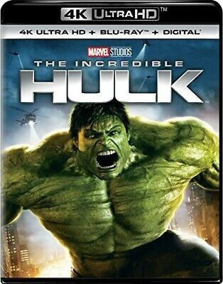 The Incredible Hulk (2008 Edward Norton) (2 Disc W/ BR) 4K ULTRA HD BLU-RAY NEW