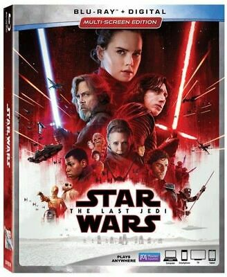 Star Wars: Episode VIII - The Last Jedi (2 Disc) BLU-RAY NEW
