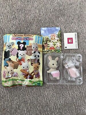 Sylvanian Families Blind Bag Babies Series 2 Shopping Baby Milk Rabbit With Eggs