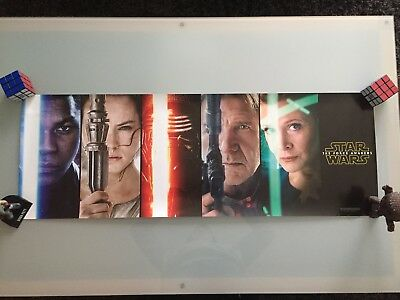 Star Wars The Force Awakens unique banner (2015)