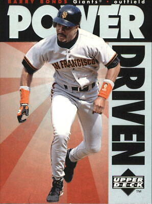 1996 Upper Deck Power Driven #PD2 Barry Bonds - NM-MT