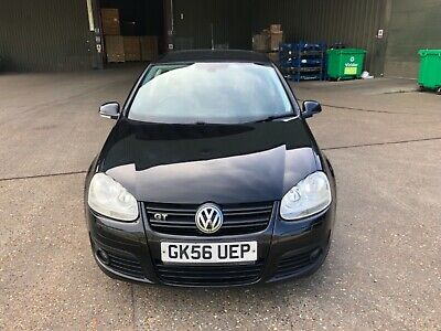 vw golf gt tdi 170 dsg mk5, 5 door, 2 owners, cambelt water pump done