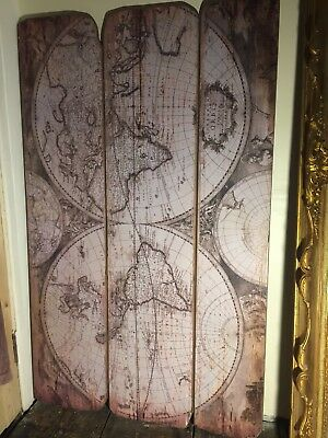 Old World Map Wall Hanging