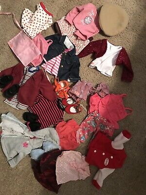 18 doll clothes fits American Girl - Clean and Cute Wardrobe ~Mix and match~