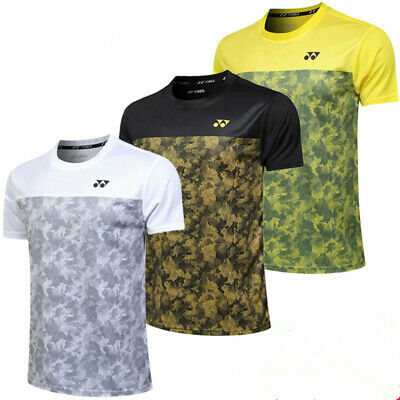 New sports Clothing Short Sleeve Casual Tops for Men badminton T Shirts
