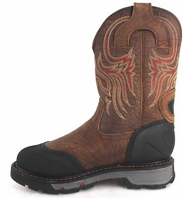 ef634b7e428 JUSTIN COMMANDER-X5 WORK Boots Size 10D Style WK2112 (Steel Toe With ...