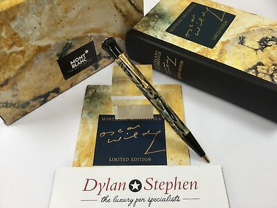 Montblanc Meisterstuck 1994 writers limited edition Oscar Wilde ballpoint pen