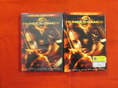 The Hunger Games 2- Disc DVD New Unopened