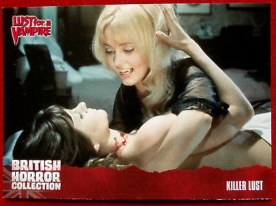 BRITISH HORROR COLLECTION - Lust for a Vampire - KILLER LUST - Card #70