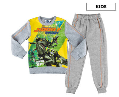 Jurassic World Boys' Raptor Squad Jogging Suit - Grey