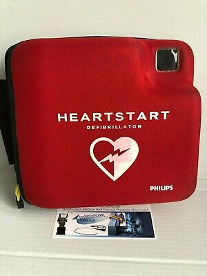Philips Carry case for FR FR2+ Red Protective soft
