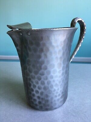 "Everlast forged aluminum 8"" water pitcher with ice guard, good condition"