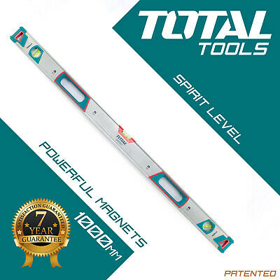 Total Tools - SPIRIT LEVEL MAGNETIC, 1000MM Heavy Duty, Builders Trade / DIY