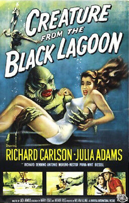 Creature From The Black Lagoon - Classic Movie Poster
