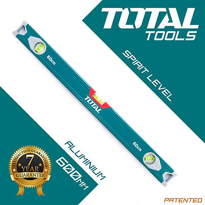 Total Tools - SPIRIT LEVEL Heavy Duty Trade 600mm Box Tool for Builders & DIY