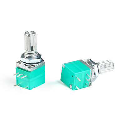 RV097NS B5 10 20 50 100 Single Potentiometer 5 Pin Variable Resistor With Switch