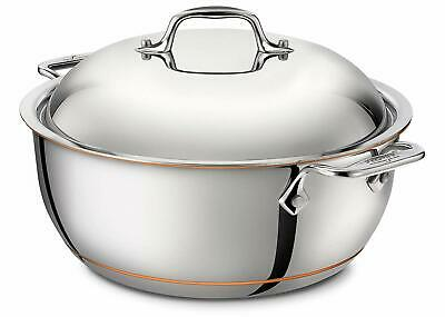 5.5 Qt. Stainless Steel Round Dutch Oven All Clad Allclad 8700800037