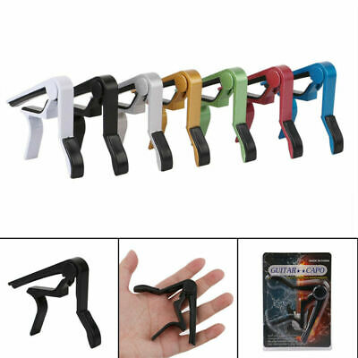 Quick Change Tune Clamp Key Trigger Capo For Acoustic Electric Guitar