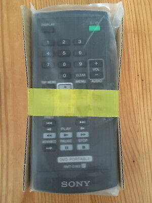 Sony portable dvd remote RMT-D183, brand new
