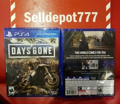 Days Gone - Playstation 4 (PS4) Brand New/Sealed