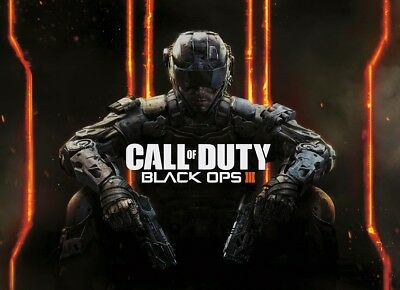CALL OF DUTY BLACK OPS III Poster Art Picture Photo Print A2/A1 Game Pic.Shooter