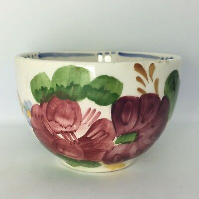Vintage 1960s Chanticleer Ware Belle Fiore Sugar Bowl Simpsons Pottery