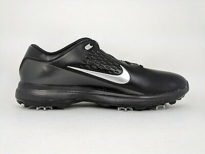 78521417a8 Nike Men's Air Zoom TW71 Golf Shoes Black Silver Tiger Woods TW (AA1990-002
