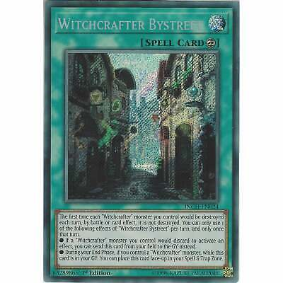 Yu-Gi-Oh! TCG: Witchcrafter Bystreet - INCH-EN024 - Secret Rare Card 1st Edition
