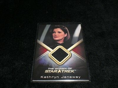 **RARE** Woman of Star Trek WCC21 Captain Kathryn Janeway Archives Costume Cards