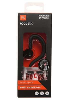 JBL Focus 100 Behind the Ear Sport Earphone with TwistLock Technology - Black