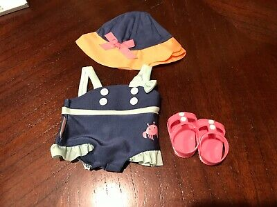 Authentic American Girl Bitty Baby Swinsuit Set for Bitty Baby Doll