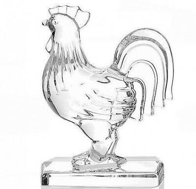 """Waterford Rooster Sculpture 6.25"""" Collectible New # 40027970"""