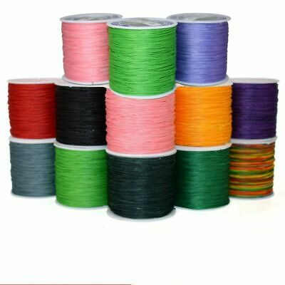 0.45/0.5/0.6mm Waxed Thread Cord String Rope Wire Jewelry Making Findings Craft