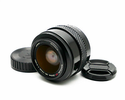 【Exc+5】Minolta MAXXUM AF ZOOM 35-70mm f/4 Lens for Sony A Mount From Japan #75