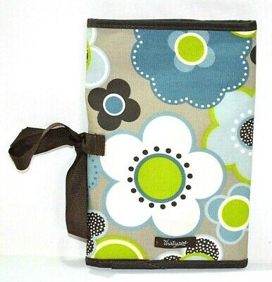 Thirty One 31 Gifts Fold-N-Go Organizer Harvest Floral Bag Case