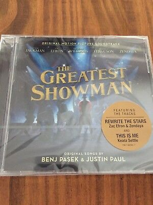 The Greatest Showman CD (Original Motion Picture Soundtrack) Brand New & Sealed