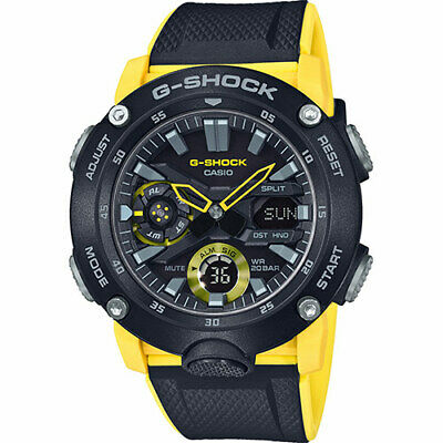 CASIO G-Shock GA-2000-1A9ER GA-2000-1A9 **Carbon Core Guard Basic** NEW MARCH 20