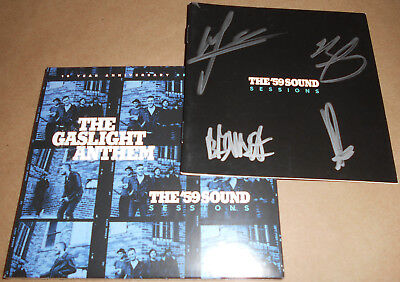 HAND-SIGNED The Gaslight Anthem CD The '59 Sound Sessions Autographed Autograph