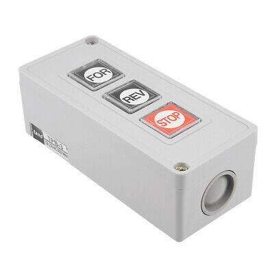 Forward Reverse Stop Momentary Push Button Control Switch Box 10A