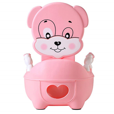 QIANGUANG® Children's Toilet Seat Baby Toddler Trainer Potty Toilet Seat Pink